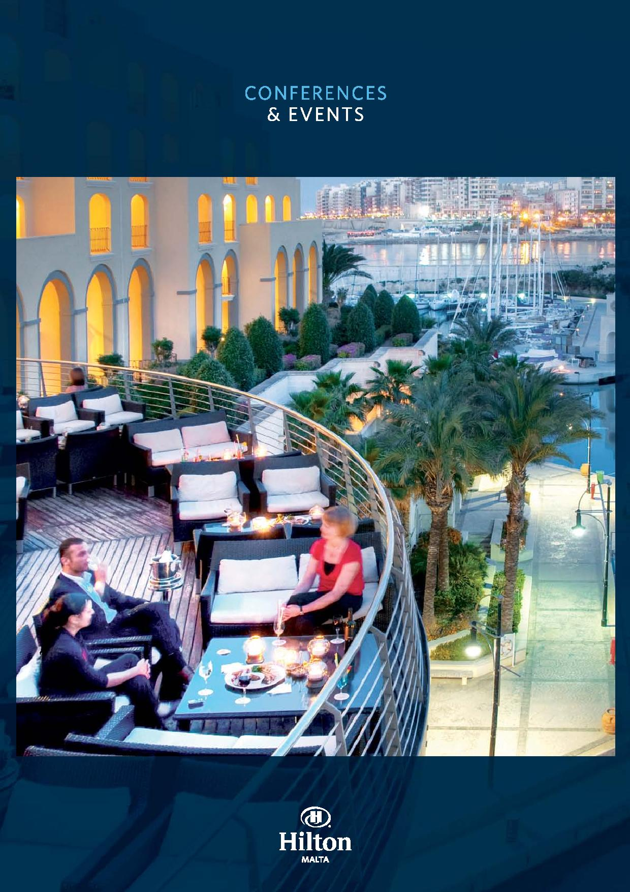 Hilton Conferences and Events Brouchure