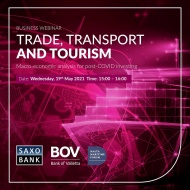 Trade, Transport & Tourism – A Business Webinar by Saxo Bank, Bank of Valletta and the Malta Maritime Forum