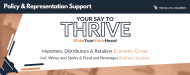 Your Say to Thrive: Importers, Distributors & Retailers Economic Group (IDREG) including Wines and Spirits & Food and Beverage BSs