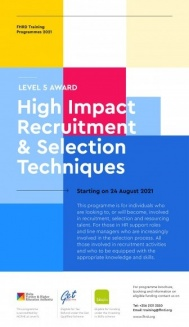 High Impact Recruitment & Selection Techniques (Level 5 Award)