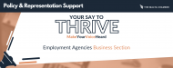 Your Say to Thrive: Employment Agencies Business Section